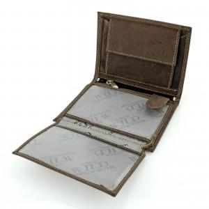 prezent dla męża skórzany portfel