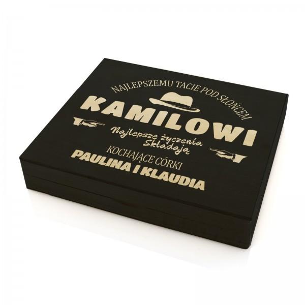 3f92b7acab920 prezent dla taty na urodziny skrzynka na upominki z grawerem. portfel ...