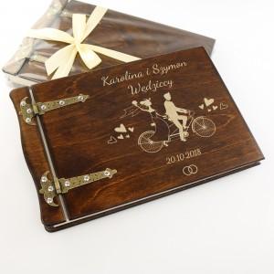 prezent na ślub grawerowany album