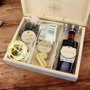 pudełko na upominki z dedykacją na prezent dla miłośnika podróży