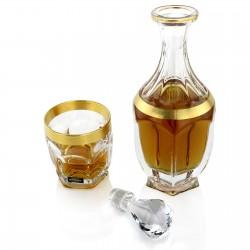 zestaw karafka i szklanki dla pary