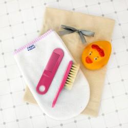 akcesoria dla dzieci w worku z personalizacją na prezent dla niemowlęcia