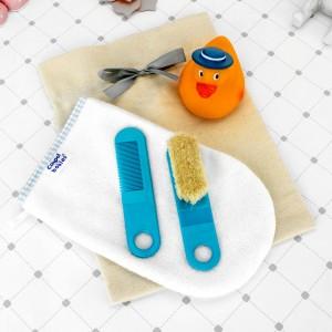 zestaw do kąpieli z imieniem na prezent dla chłopczyka