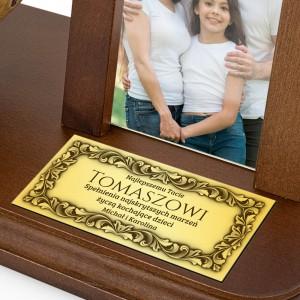 ramka na zdjęcie drewniana dla taty