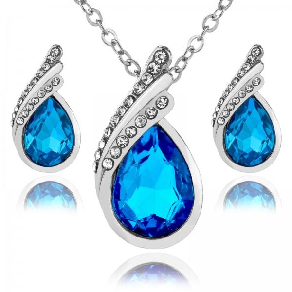 biżuteria na prezent dla dziewczyny naszyjnik i kolczyki z personalizacją
