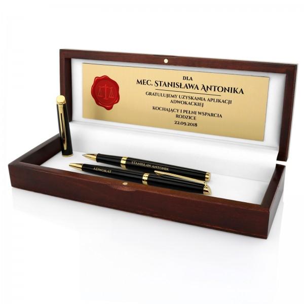zestaw waterman pióro i długopis na prezent