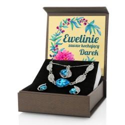 biżuteria z grawerem na prezent dla niej