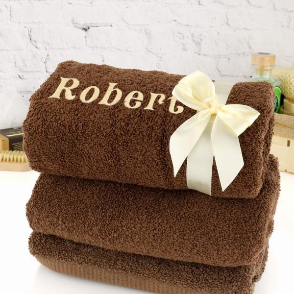 ręcznik z haftem na prezent dla mężczyny