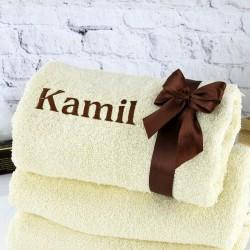 pomysł na prezent dla chłopaka imienny ręcznik