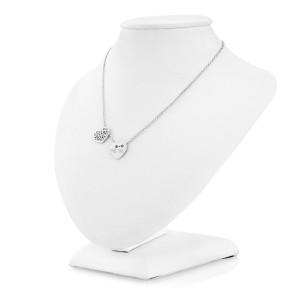 łańcuszek srebrny z zawieszkami i grawerem na prezent dla żony