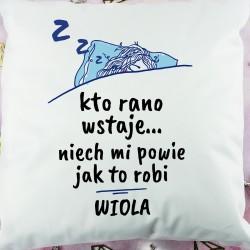 pomysł na prezent dla dziewczyny imienna poduszka z dedykacją