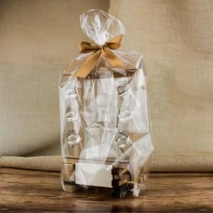karafka na whiskey z kieliszkami na upominek z okazji urodzin