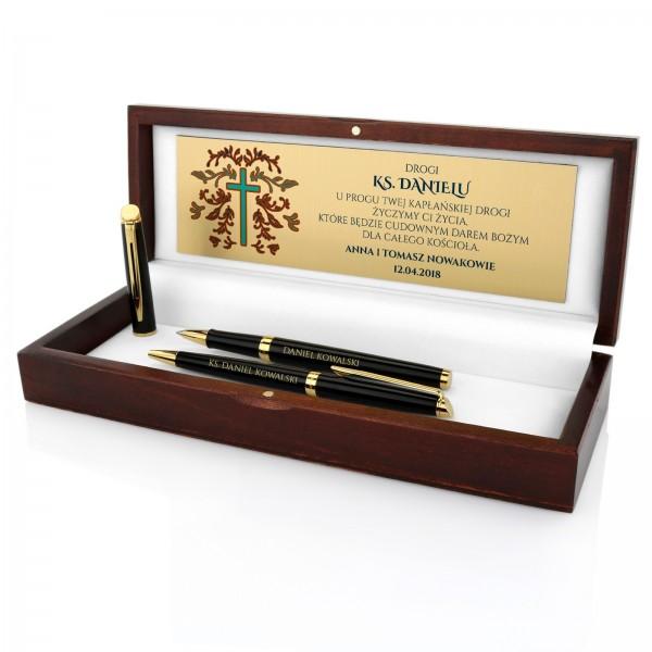 zestaw waterman długopis i pióro na prezent