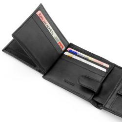 skórzany portfel z grawerem na prezent