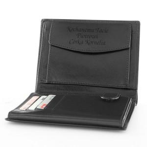 portfel męski rovicky z grawerem