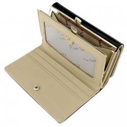prezent dla żony na mikołajki damski portfel skórzany z grawerem