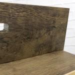 drewniany organizer biurkowy z personalizacją na prezent dla chłopaka