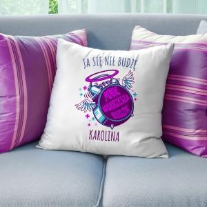 prezent dla siostry poduszka z personalizacją