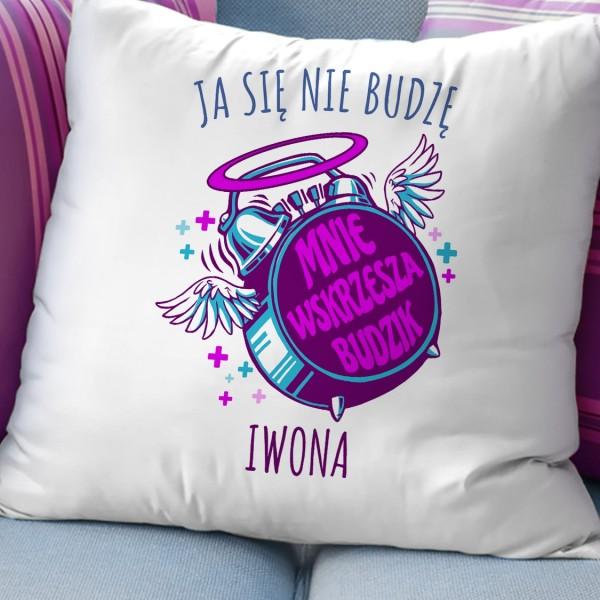 poduszka z imieniem na prezent dla przyjaciółki