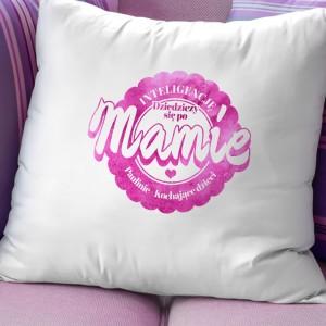 personalizowana poduszka na prezent dla mamy