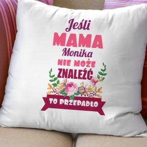 imienna poduszka dla mamy na urodziny