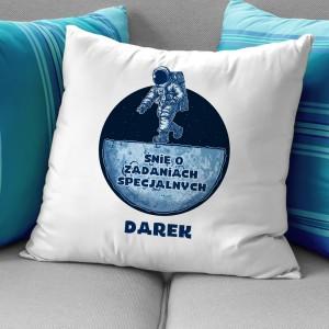 poduszka z personalizacją na prezent dla chłopaka