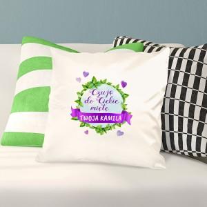 poduszka z nadrukiem na prezent dla chłopaka