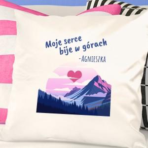 poduszka imienna na prezent dla podróżniczki