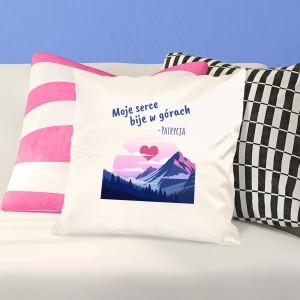 prezent dla niej poduszka dekoracyjna  z personalizacją