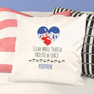 poduszka z imieniem prezent dla chłopaka
