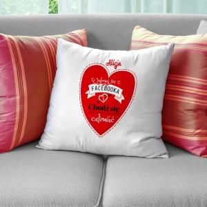 poduszka z personalizacją na prezent dla niej