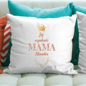 prezent dla mamy poduszka z imieniem