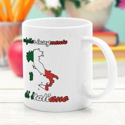kubek z dedykacją dla nauczycielki włoskiego