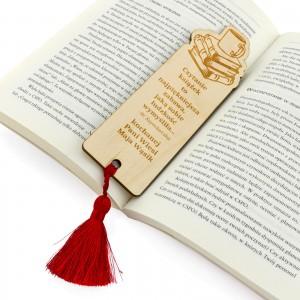 personalizowana zakładka do książki na prezent dla wychowawczyni