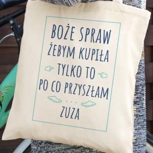 prezent dla przyjaciółki torba z imieniem
