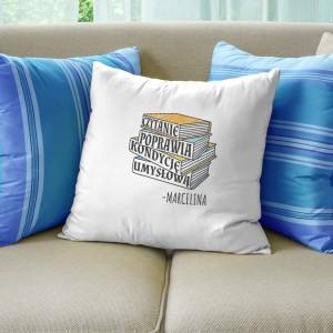 fajne poduszki z napisami