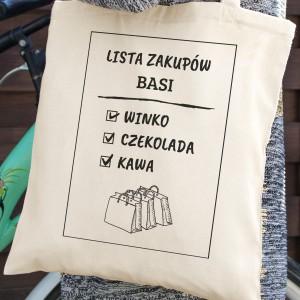 bawełniana torba na prezent
