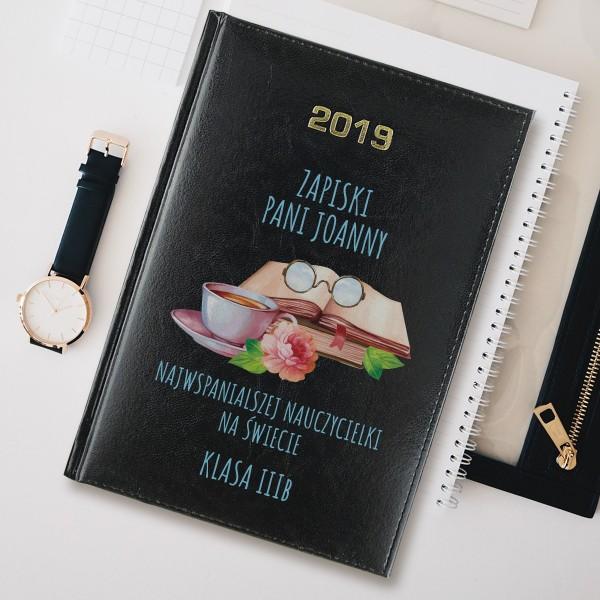 kalendarz na prezent z grawerem