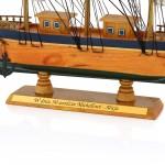 statek z grawerem dedykacji