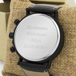 zegarek z grawerem dla męża