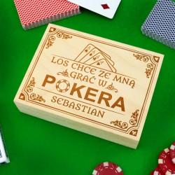 prezent dla chłopaka pokerowy los