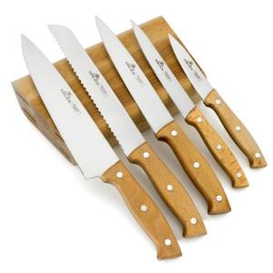 zestaw noży kuchennych z dedykacją pyszna kuchnia