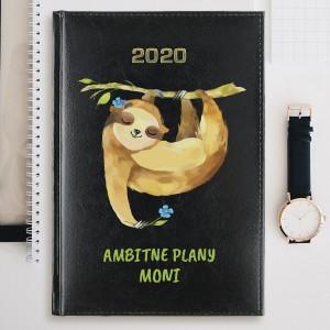 kalendarz personalizowany leniwiec