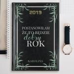 kalendarz z dedykacją 2019 dobry rok na prezent
