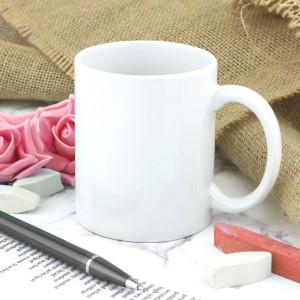 kubek ceramiczny biały na prezent