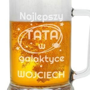prezent dla taty na urodziny kufel na piwo z grawerem