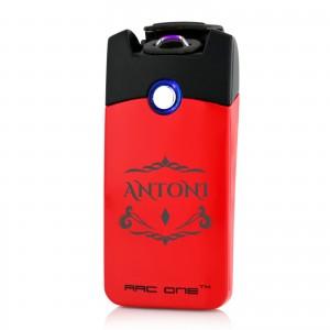 elegancka zapalniczka plazmowa z grawerem red style