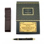 długopis parker im czarny gt w etui z grawerem