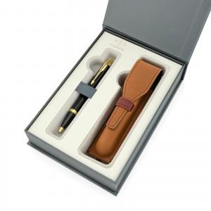 eleganckie pudełko prezentowe na spersonalizowany długopis i etui