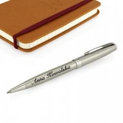 długopis parker z silver matt z grawerem imienia